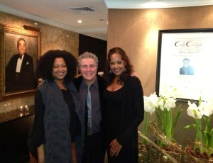Steve Tyrell and Lisa Fischer