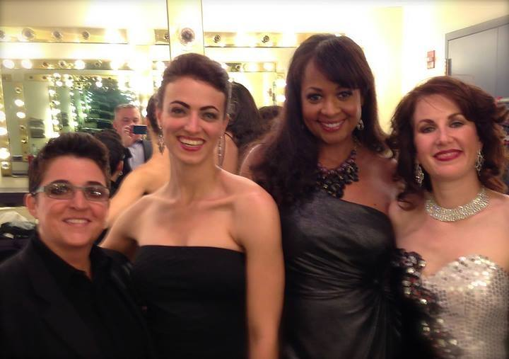 With Terese Genecco, Kat Gang and Alexis Cole