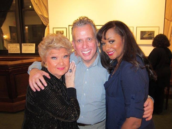 With the legendary Marilyn Maye & incomparable Billy Stritch–feb 2013 92st Y