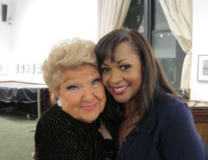 With the legendary Marilyn Maye Feb 2013