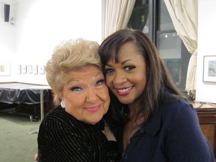 With the legendary Marilyn Maye Feb 2013