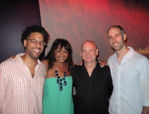 at the Metropolitan Room with my band  Andy Milne (piano), Mark Helias (bass) and & Mark Ferber (drums) May 2013