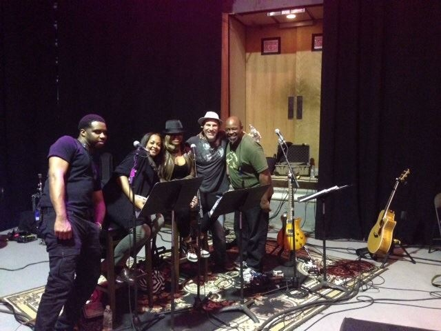 rehearsal photo from the Rob Thomas band. We had a great gig recently at the Mandalay Bay in Vegas & are gearing up for a tour in 2015–June 10 2014