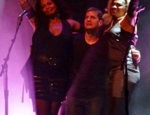 In performance with Rob Thomas summer 2015 tour