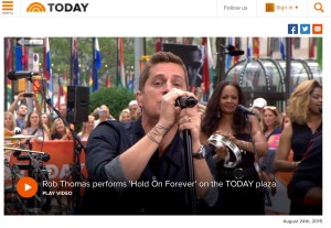 Rob Thomas TODAY image