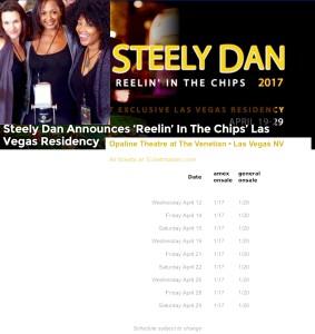 STEELY DAN Danettes: Carolyn Leonhart, La Tanya Hall & Cindy Mizelle