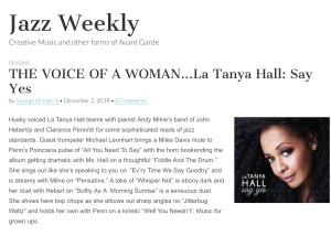 Say Yes Jazz weekly review