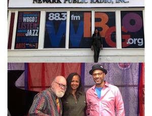 La Tanya Hall & Andy Milne At WBGO Jazz 88.3 Performance Studio